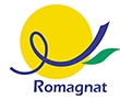 Logo Romagnat, cropped from larger file by me
